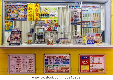 Lottery Counter in Nara
