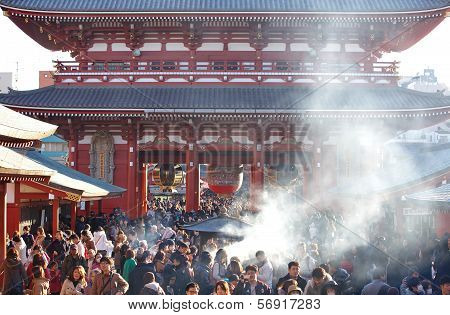 The Senso-ji Buddhist Temple