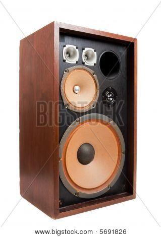 A Vintage Stereo Speaker