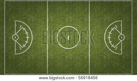 Womens Lacrosse Playing Field
