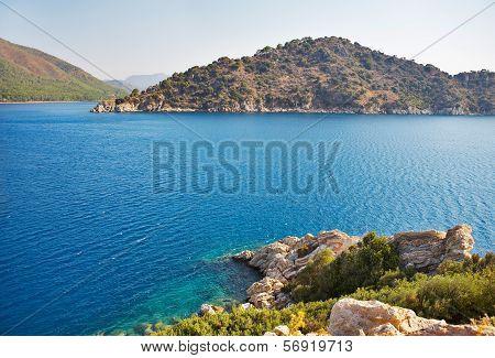 Mediterranean Sea Landscape. Turkey. Marmaris