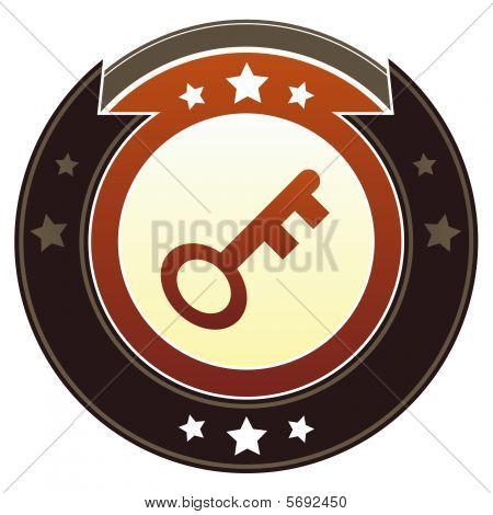 Skeleton key imperial button