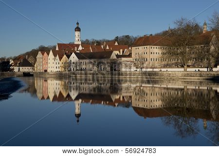 Reflection Of Landsberg Am Lech