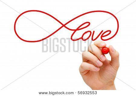 Love Infinity Concept