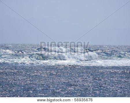 Harsh sea