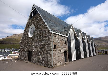 Christian church of Klaksvik, Faroe Islands