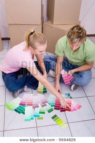 chossing paint color