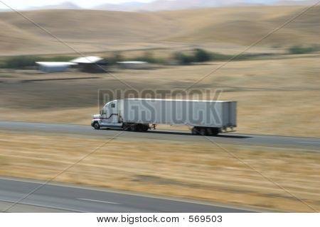 Speeding Truck 1