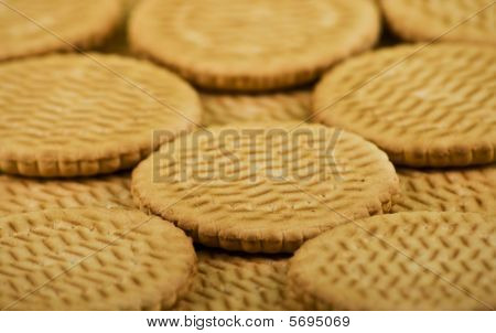 Scattering Of Sweet Milk Cookies