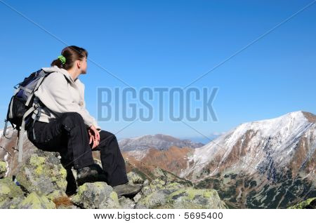 Relax On Hiking - View On Mountains