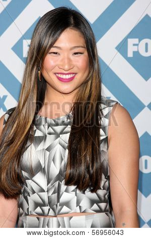 LOS ANGELES - JAN 13:  Jenna Ushkowitz at the FOX TCA Winter 2014 Party at Langham Huntington Hotel on January 13, 2014 in Pasadena, CA