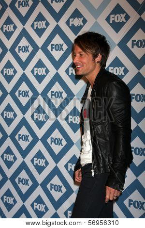 LOS ANGELES - JAN 13:  Keith Urban at the FOX TCA Winter 2014 Party at Langham Huntington Hotel on January 13, 2014 in Pasadena, CA