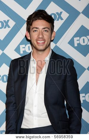 LOS ANGELES - JAN 13:  Kevin McHale at the FOX TCA Winter 2014 Party at Langham Huntington Hotel on January 13, 2014 in Pasadena, CA