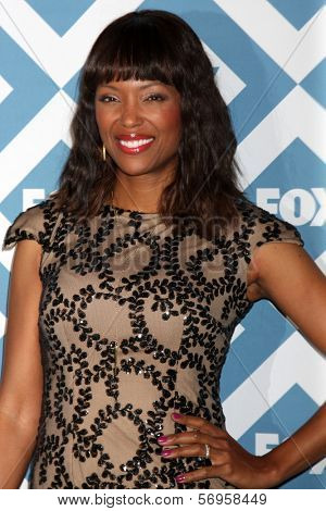LOS ANGELES - JAN 13:  Aisha Tyler at the FOX TCA Winter 2014 Party at Langham Huntington Hotel on January 13, 2014 in Pasadena, CA