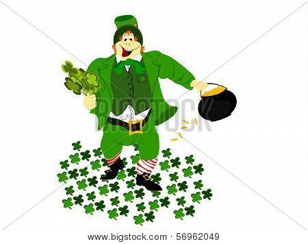 leprechaun clover ground