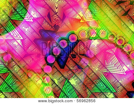Color Shape Background