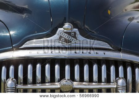 1947 Black Buick Eight Car Grill