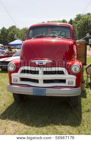 1954 Chevy 6400 Truck Front View
