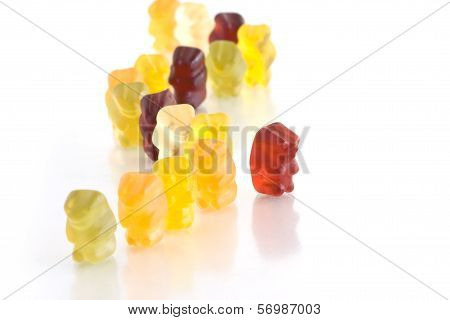 Gummy bear - Dare to stand out of the crowd