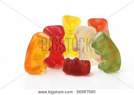 Gummy bear story series - four grandparents