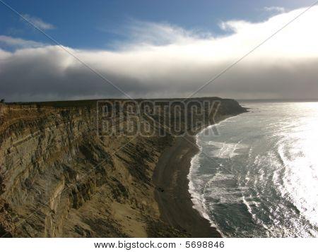 Atlantic Coast Cliffs of Patagonia