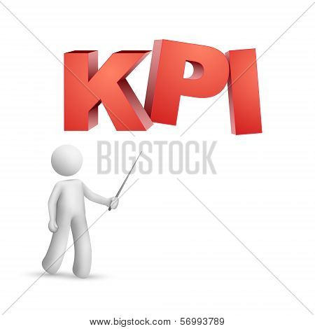 3D Person Pointing At A Word