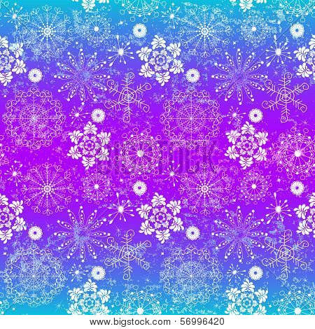 Seamless Glowing Christmas Vivid Grunge Pattern