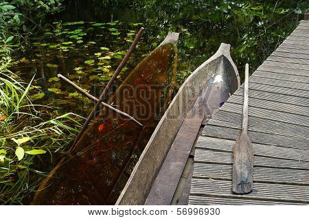 Traditional African Canoes