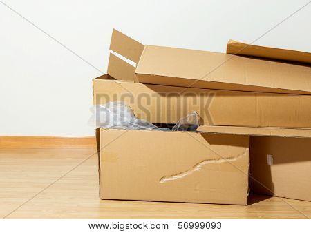 Used Carton box