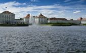 stock photo of munich residence  - The famous Nymphenburger Castle in Munich - JPG