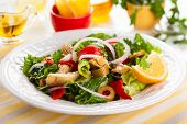 foto of artichoke hearts  - Marinated Artichoke Hearts Salad - JPG