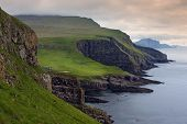 stock photo of faroe islands  - Mykines Faroe Islands  - JPG