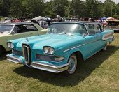1958 Blue Edsel Citation