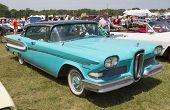 1958 Blue Edsel Citation Side View