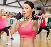 foto of training gym  - fitness - JPG