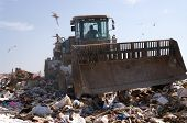 foto of landfills  - Working on a landfill plant in the US - JPG