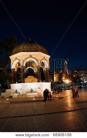 Sadirvan Fountain On The Hippodrome
