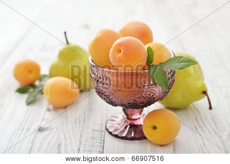 Apricots And Pears