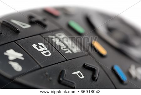 3D On The Tv Remote Control