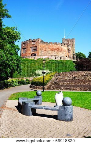Castle and gardens, Tamworth.
