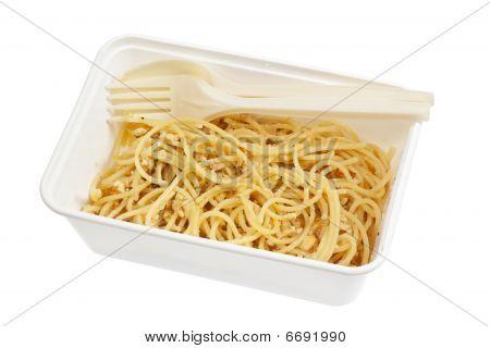 Takeaway Spaghetti Aglio E Olio
