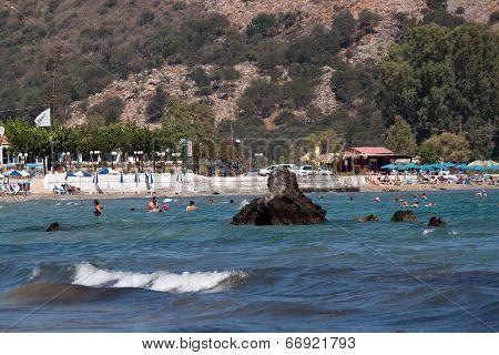 Beaches Of Georgioupolis, Crete