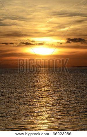 Provincetown Beach Sunset Sky At Night