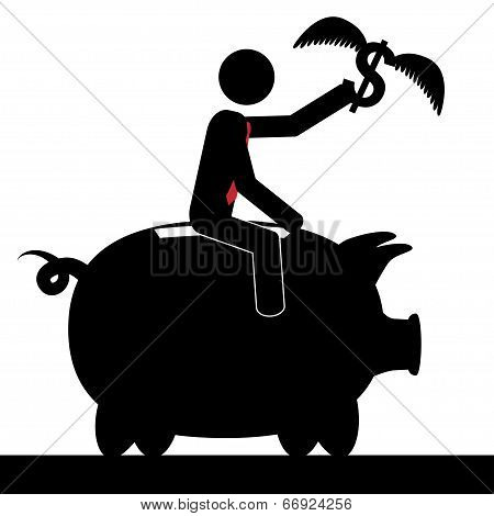 Ride the pig