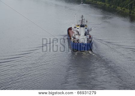 Beldorf - Vessel At The Kiel Canal