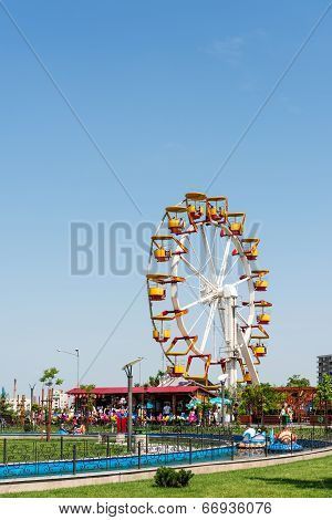 Youths Public Amusement Park View