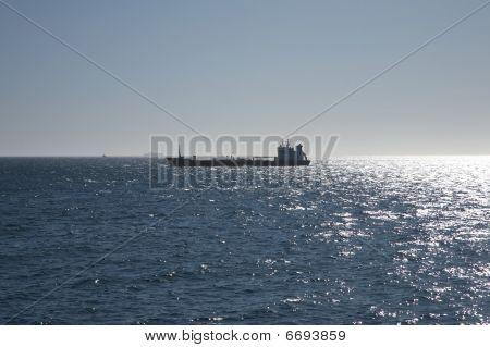 Side Of Cargo Boat