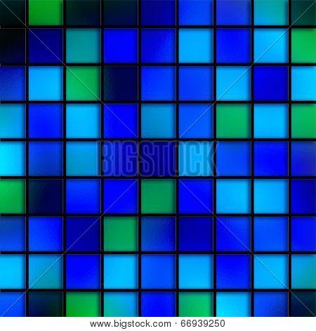 Blue Aqua Tiles
