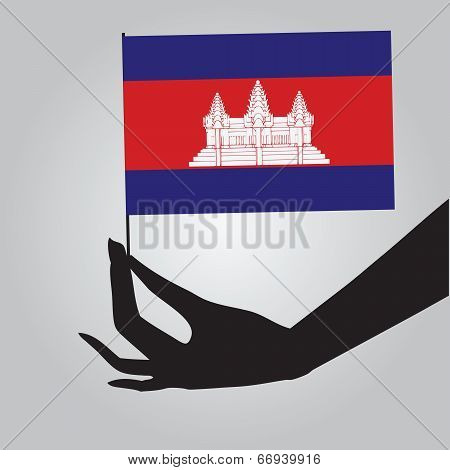 State Flag Of Cambodia