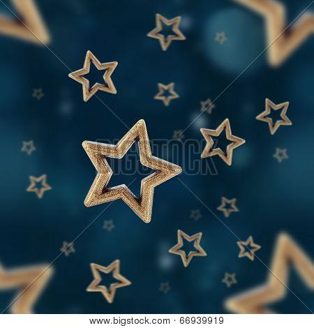 Night Stars Seamless Pattern